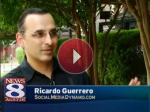 Ricardo Guerrero - Social Media Dynamo, on News 8 Austin